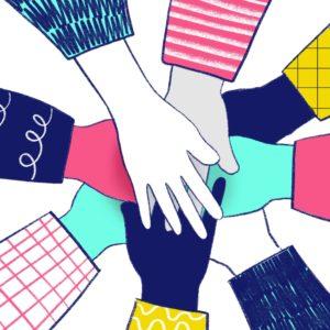 Représentation des collaborateurs Daveo unis autour de la responsabilité sociétale des entreprises.