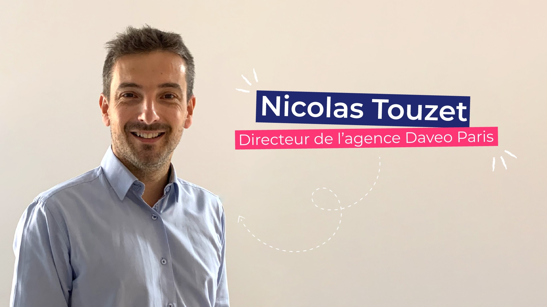 Nicolas Touzet directeur d'agence